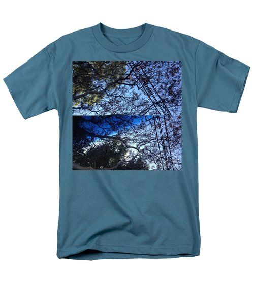 Tree Symphony Men's T-Shirt  (Regular Fit) by Nora Boghossian