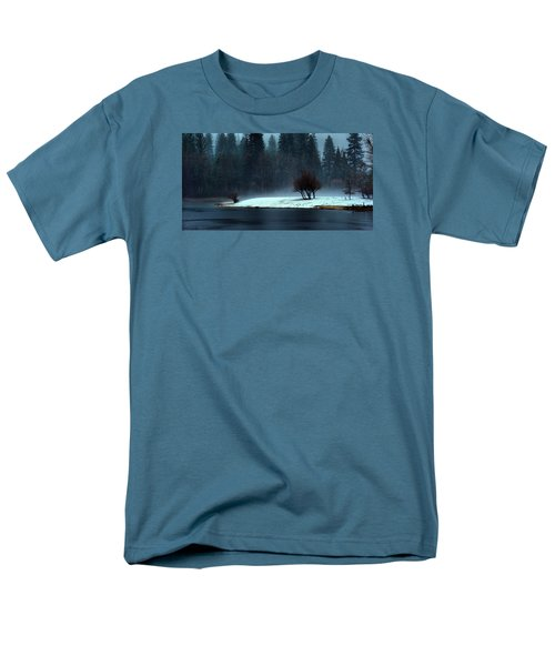 Trees On Point Men's T-Shirt  (Regular Fit) by Josephine Buschman