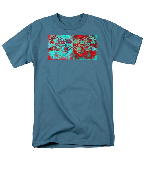 Men's T-Shirt  (Regular Fit) featuring the digital art Trip The Night Fantastic Together by Angelina Vick