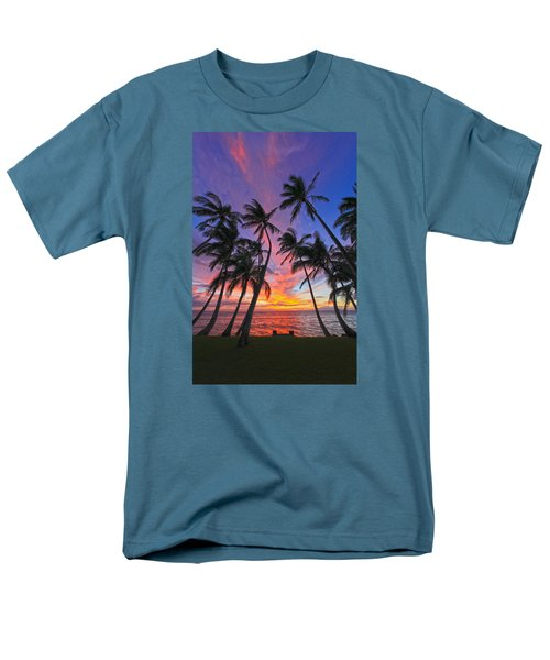 Tropical Nights Men's T-Shirt  (Regular Fit) by James Roemmling