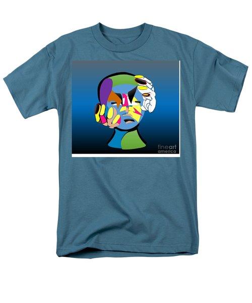 Troubled Men's T-Shirt  (Regular Fit) by Belinda Threeths