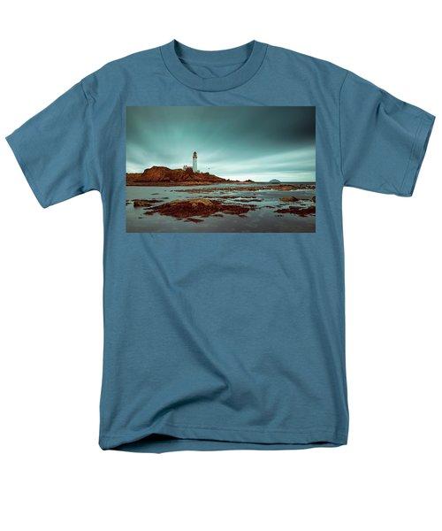 Turnberry Lighthouse Men's T-Shirt  (Regular Fit) by Ian Good