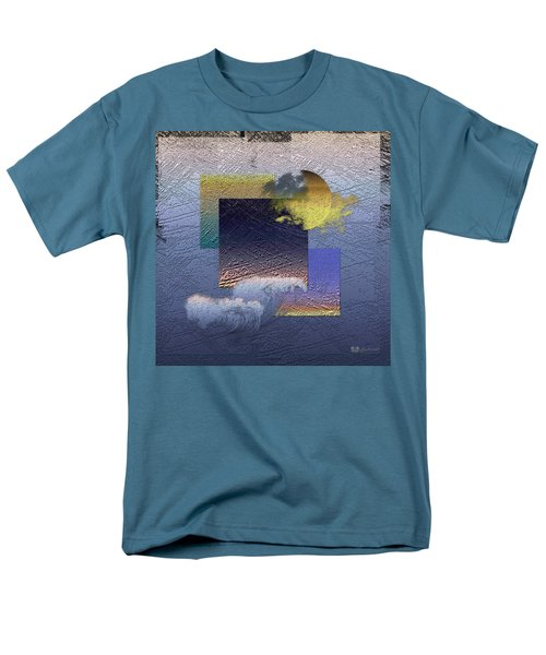 Twilight Interrupted By Ocean Breeze Men's T-Shirt  (Regular Fit) by Serge Averbukh