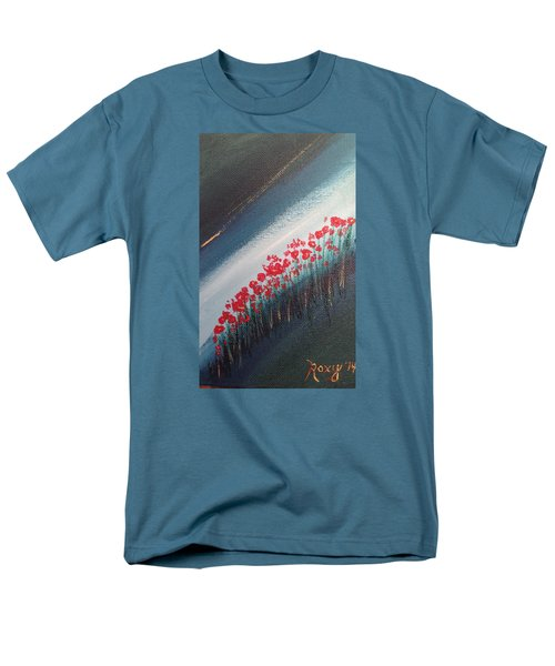 Twilight Poppies Men's T-Shirt  (Regular Fit) by Roxy Rich