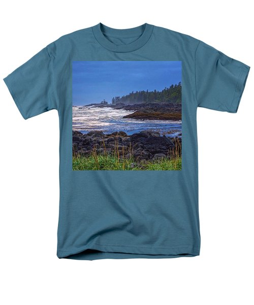 Ucluelet, British Columbia Men's T-Shirt  (Regular Fit) by Heather Vopni