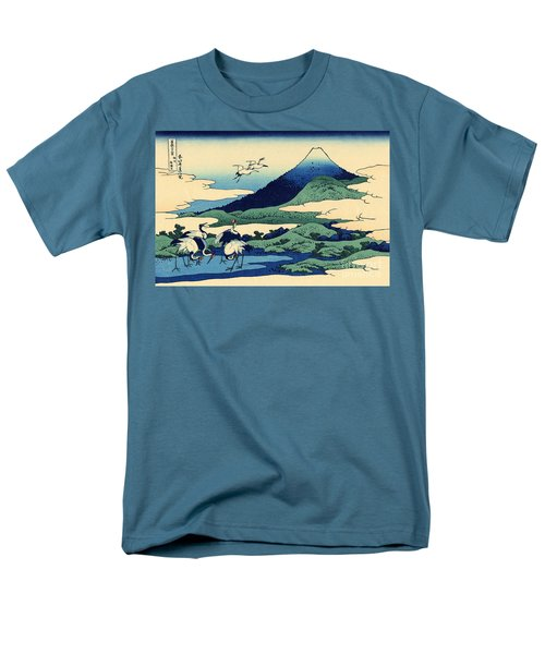 Umegawa In Sagami Province, One Of Thirty Six Views Of Mount Fuji Men's T-Shirt  (Regular Fit) by Hokusai