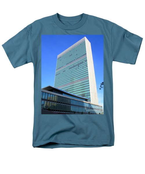 Men's T-Shirt  (Regular Fit) featuring the photograph United Nations 1 by Randall Weidner