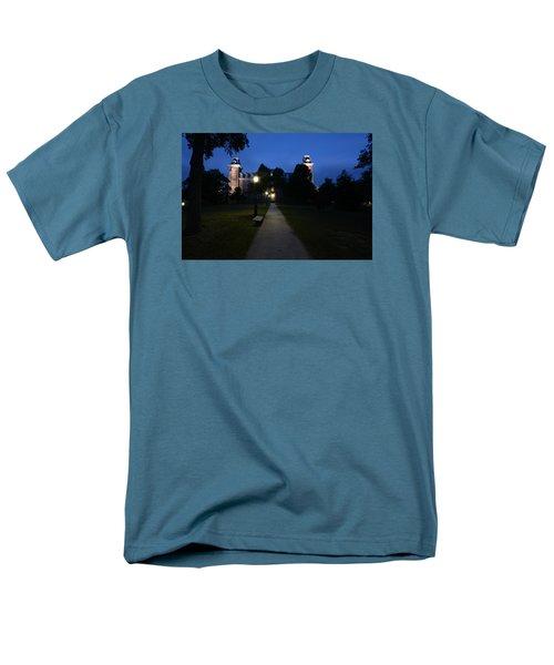 University Of Arkansas Men's T-Shirt  (Regular Fit) by Chris  Look