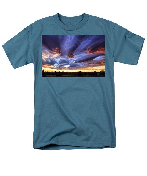 Alien Cloud Formations Men's T-Shirt  (Regular Fit)
