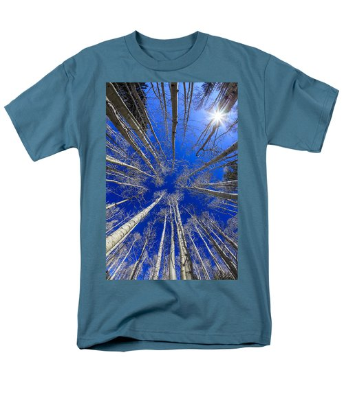 Up Men's T-Shirt  (Regular Fit) by Alexey Stiop