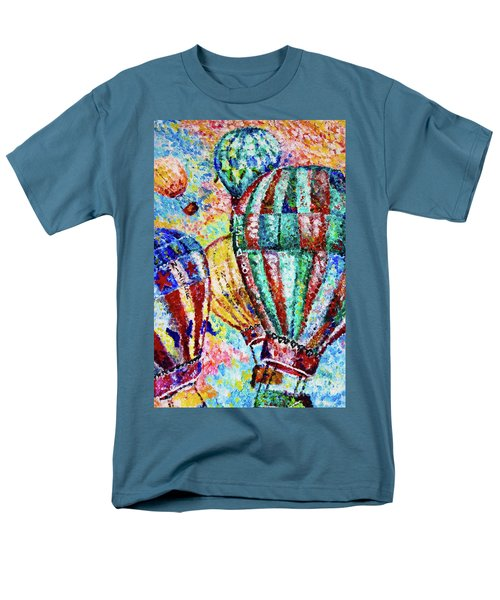 Men's T-Shirt  (Regular Fit) featuring the painting Up by Colleen Kammerer