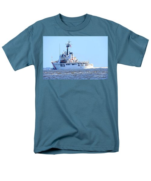 Men's T-Shirt  (Regular Fit) featuring the photograph Us Coast Guard  - Diligence by Shelia Kempf