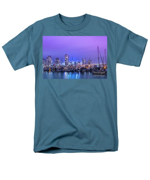 Men's T-Shirt  (Regular Fit) featuring the photograph Vancouver by Juli Scalzi