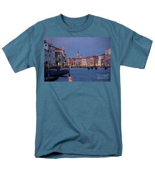 Venice Blue Hour 2 Men's T-Shirt  (Regular Fit) by Heiko Koehrer-Wagner