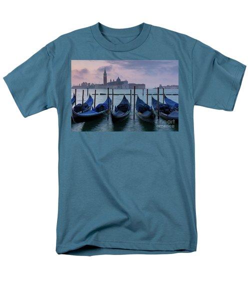 Men's T-Shirt  (Regular Fit) featuring the photograph Venice Dawn IIi by Brian Jannsen
