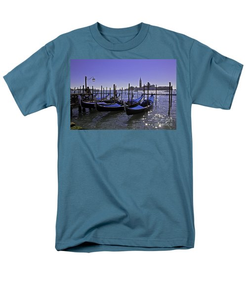 Venice Is A Magical Place Men's T-Shirt  (Regular Fit) by Madeline Ellis