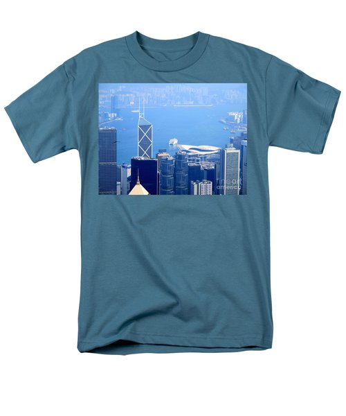 Men's T-Shirt  (Regular Fit) featuring the photograph Victoria Peak 2 by Randall Weidner
