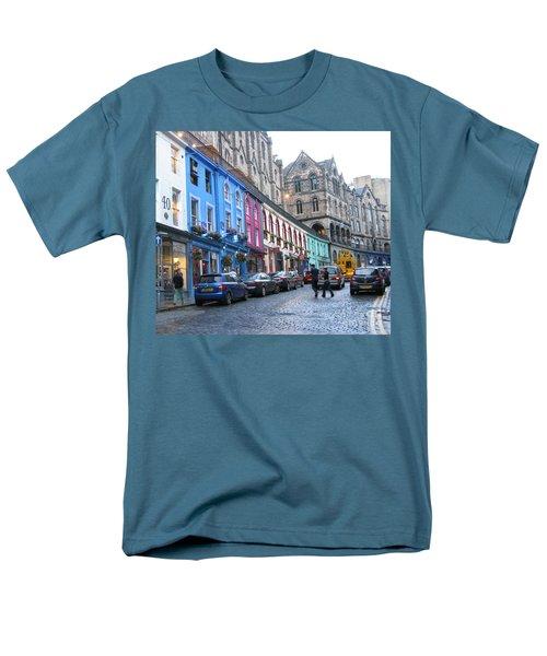 Victoria St Men's T-Shirt  (Regular Fit) by Mini Arora