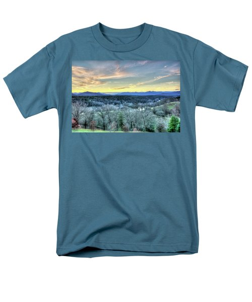 Men's T-Shirt  (Regular Fit) featuring the photograph View From Biltmore by Wade Brooks
