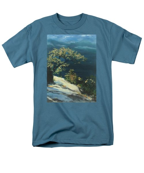 View From The Top Men's T-Shirt  (Regular Fit) by Mary Lynne Powers