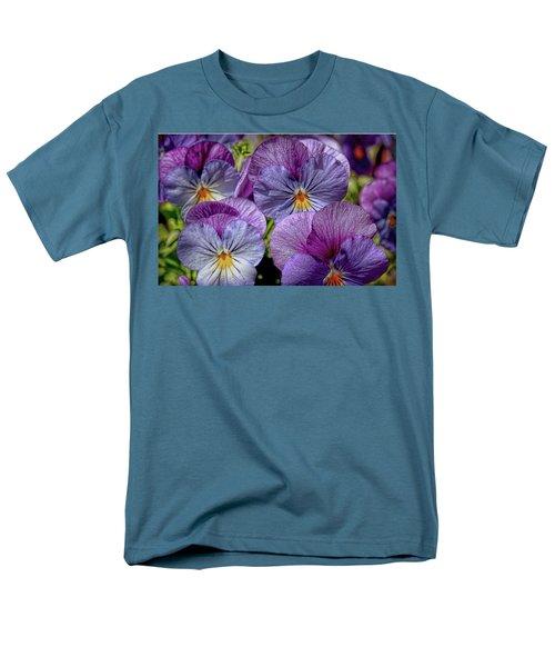 Men's T-Shirt  (Regular Fit) featuring the photograph Viola by Bonnie Willis