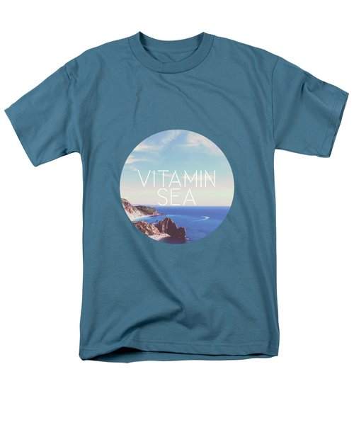 Vitamin Sea Men's T-Shirt  (Regular Fit) by Alexandre Ibanez