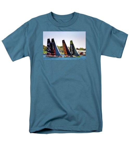 Volvo Ocean Race Newport Ri Men's T-Shirt  (Regular Fit) by Tom Prendergast