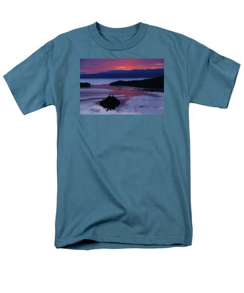 Men's T-Shirt  (Regular Fit) featuring the photograph Wake Up In Lake Tahoe  by Sean Sarsfield