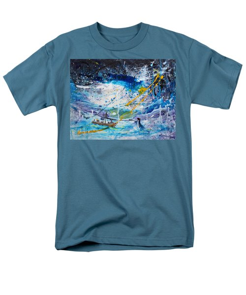 Walking On The Water Men's T-Shirt  (Regular Fit) by Kume Bryant