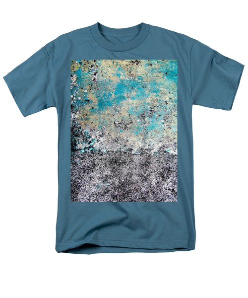 Wall Abstract 174 Men's T-Shirt  (Regular Fit) by Maria Huntley