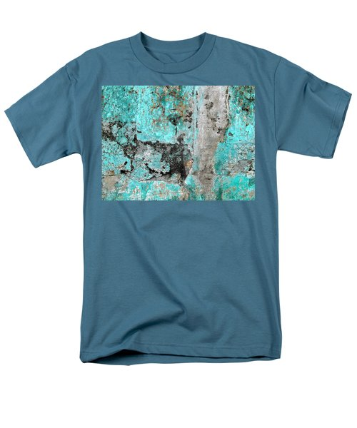Wall Abstract 219 Men's T-Shirt  (Regular Fit) by Maria Huntley