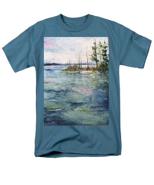 Washed By The Waters Series Men's T-Shirt  (Regular Fit) by Robin Miller-Bookhout