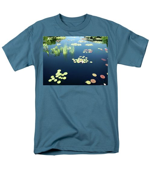 Men's T-Shirt  (Regular Fit) featuring the photograph Water Lilies by Marilyn Hunt