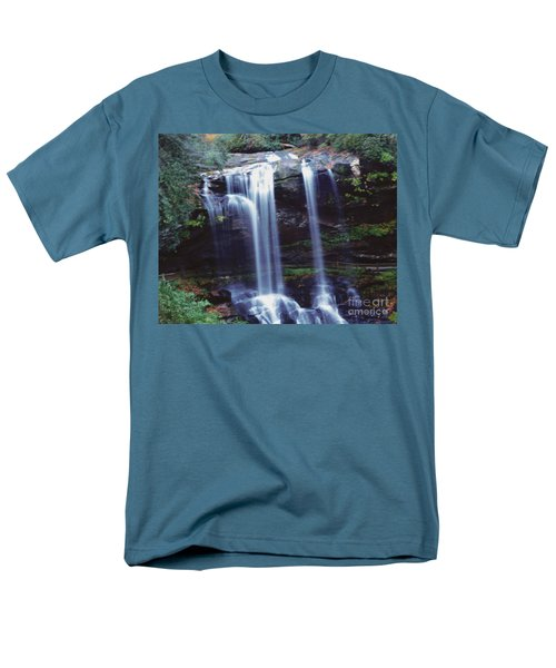 Waterfall  Men's T-Shirt  (Regular Fit) by Debra Crank