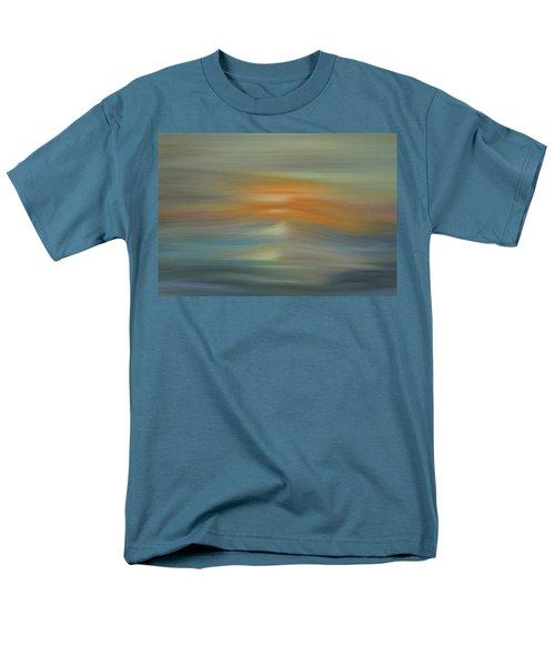 Wave Swept Sunset Men's T-Shirt  (Regular Fit) by Dan Sproul