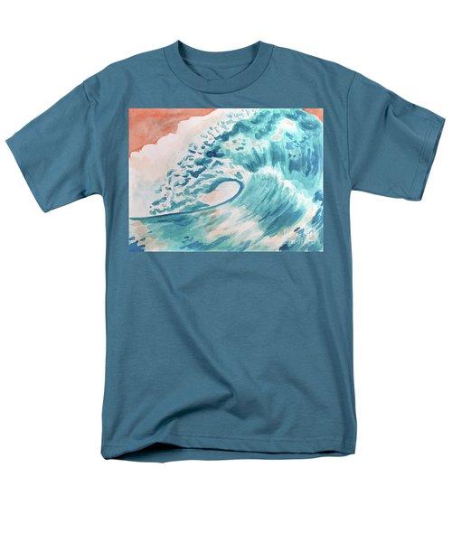Wave Men's T-Shirt  (Regular Fit) by Whitney Morton