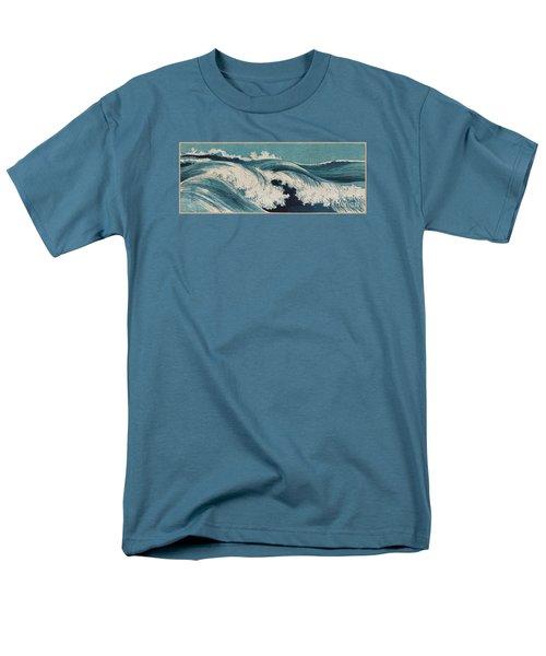 Waves Men's T-Shirt  (Regular Fit) by Konen Uehara
