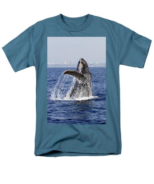 Waving  Men's T-Shirt  (Regular Fit) by Shoal Hollingsworth