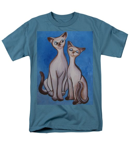 We Are Siamese Men's T-Shirt  (Regular Fit) by Leslie Manley