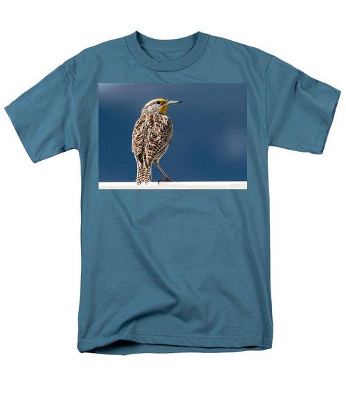 Western Meadowlark Men's T-Shirt  (Regular Fit)
