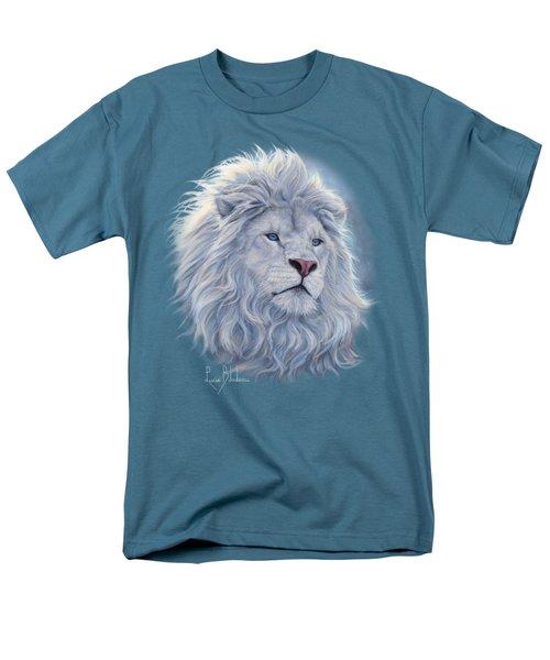 White Lion Men's T-Shirt  (Regular Fit)
