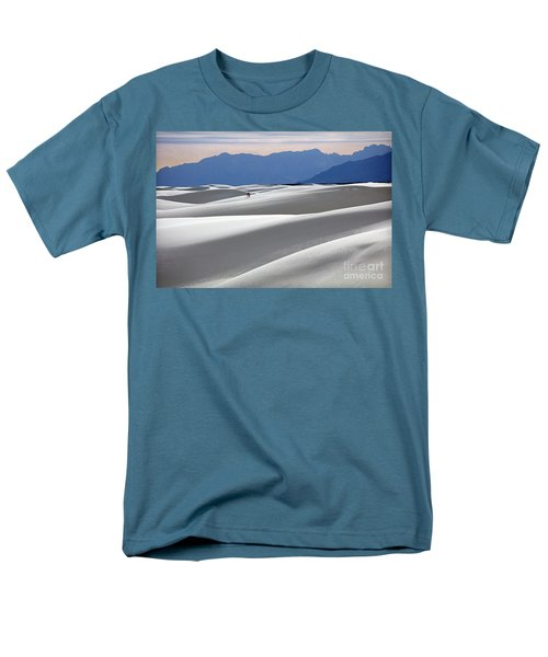 White Sands Hikers Men's T-Shirt  (Regular Fit) by Martin Konopacki