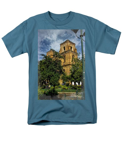 Men's T-Shirt  (Regular Fit) featuring the photograph Why Do I Live Here? II by Al Bourassa