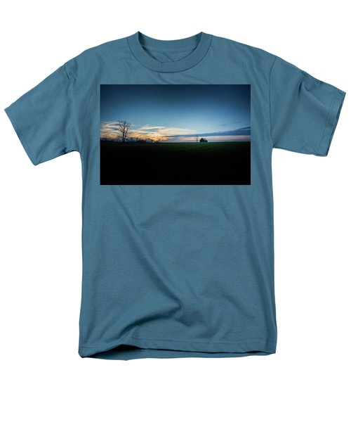 Men's T-Shirt  (Regular Fit) featuring the photograph Wide Open Spaces by Shane Holsclaw