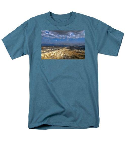 Wide View From Masada Men's T-Shirt  (Regular Fit) by Dubi Roman