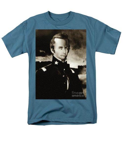 William B Travis - The Alamo Men's T-Shirt  (Regular Fit) by Ian Gledhill