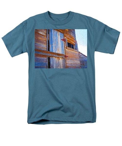Men's T-Shirt  (Regular Fit) featuring the photograph Window 3 by Susan Kinney