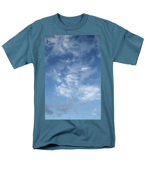 Men's T-Shirt  (Regular Fit) featuring the photograph Window On The Sky In Israel During The Winter by Yoel Koskas