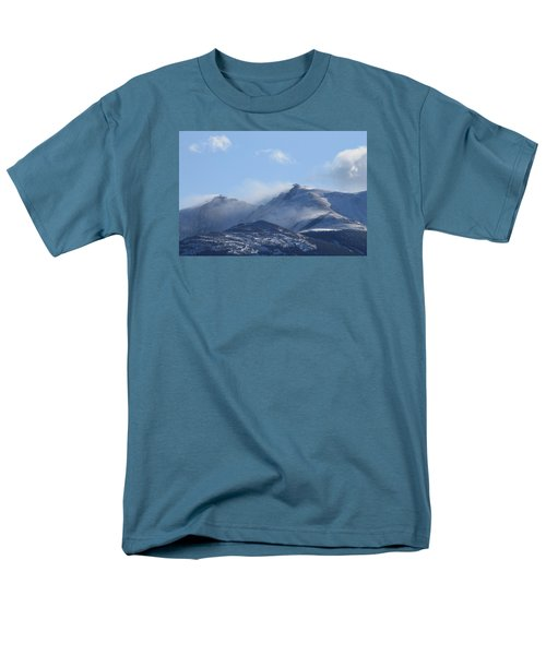Windy Pikes Peak  Men's T-Shirt  (Regular Fit) by Christopher Kirby