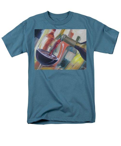 Wine Pour Men's T-Shirt  (Regular Fit)